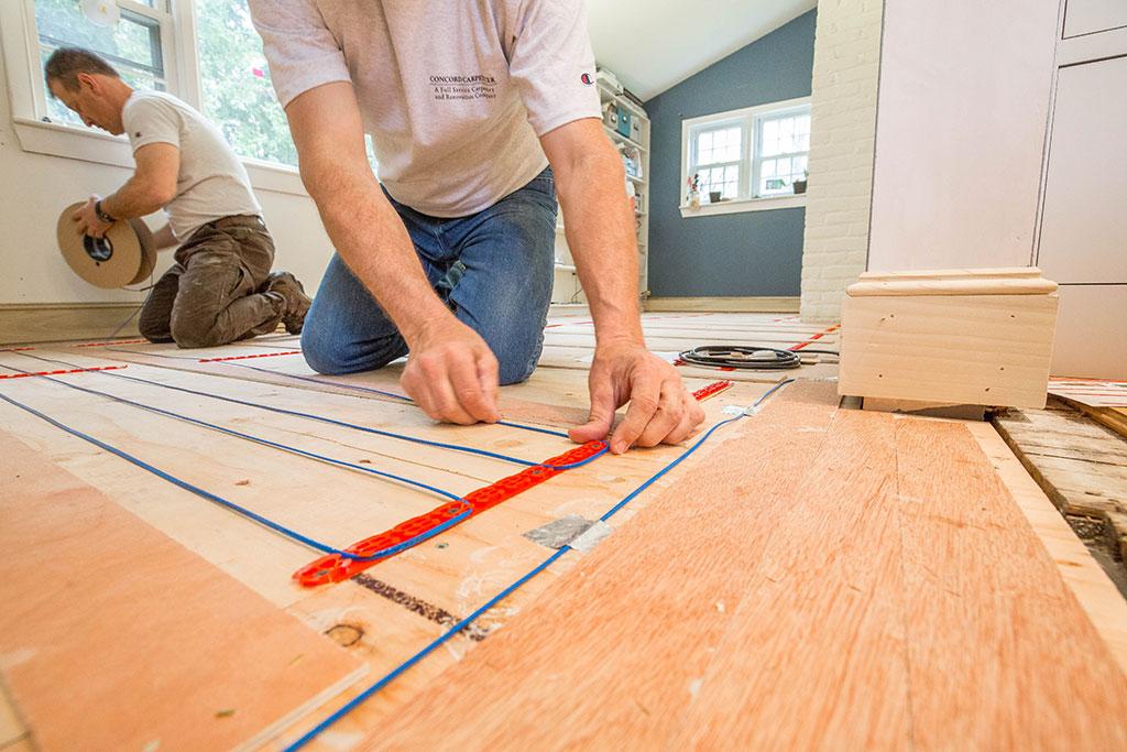 Laminált padló és padlófűtés? Működhet együtt?